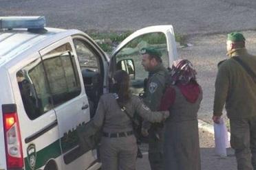 قوات الاحتلال تعتقل فتاة بدعوى حيازتها سكين قرب المسجد الإبراهيمي