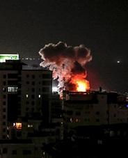 فجرا..لحظات تجدد القصف الإسرائيلي على قطاع غزة