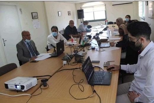 اللجنة التوجيهيّة لبرنامج تحسين مُخيّمات اللاجئين تبحث معايير المشاريع ذات الأولوية لتنفيذها