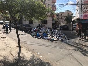 مطالبات بإنشاء مستوعب لتجميع النفايات داخل مخيم برج الشمالي