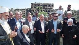 مخيم اليرموك سيبقى عاصمة المقاومة والشتات الفلسطيني