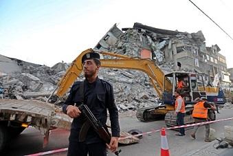 نائب غانتس يحدد شرطا لإعادة إعمار قطاع غزة