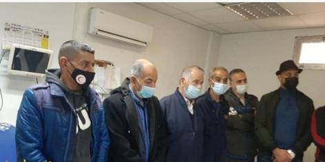 جمعية مخيّم البرج الشمالي - ألمانيا تُقدّم أدويةً لجمعية الهلال الأحمر الفلسطيني