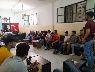 أشد ينظم ورشة طلابية في عين الحلوة حول مشكلات الطلبة الجامعيين الفلسطينيين في لبنان