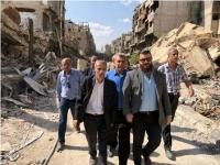 عبدالحميد يطالب الأونروا وم.ت.ف بتحمل مسؤولياتهما تجاه المخيمات والتجمعات الفلسطينية في سوريا