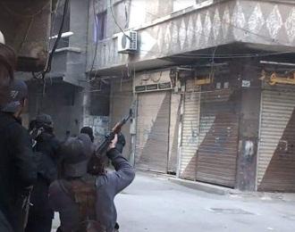 اشتباكات في اليرموك بين داعش و النصرة