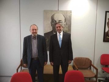 الحزب الشيوعي اليوناني يقدم استجوابا بالبرلمان حول الاعتراف بدولة فلسطين