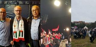 الديمقراطية تشارك في المهرجان السنوي لحزب العمل البلجيكي