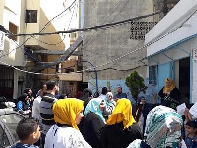 اعتصام في البداوي رفضاً لدمج طلاب البطوف مع مدرسة التركيب