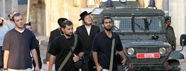 مستوطنون يهاجمون المواطنين في الخليل