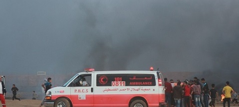 12 إصابة برصاص جيش الاحتلال شمال غزة