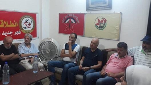 أمسية شعرية للمنتدى الثقافي الديمقراطي الفلسطيني بتجمع ركن الدين