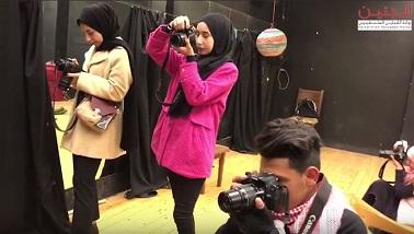 دورات في التصوير الفوتوغرافي في مخيم جنين .. مدخل لتمكين الفتيات اقتصادياً
