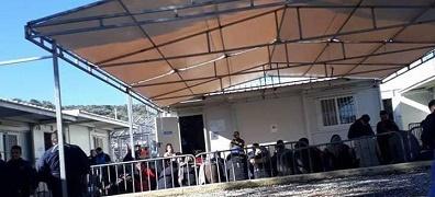 أوضاع صعبة تواجه المهاجرين الفلسطينيين في جزيرة ليروس
