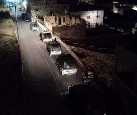 قوات الإحتلال تقتحم مدينة جنين
