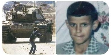 الذكرى ال ١٩ لاستشهاد الطفل البطل فارس عودة