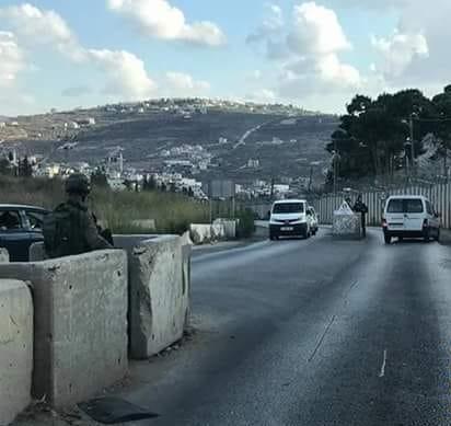 جيش الاحتلال ينصب عدة حواجز عسكرية ويعيق الحركة بمحافظة جنين