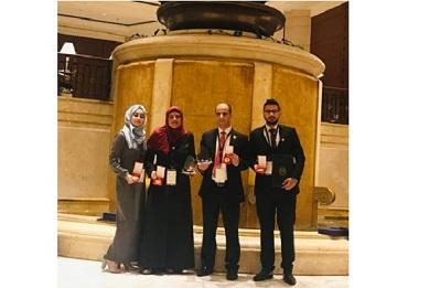 بحثٌ علميّ لطلاب فلسطينيين يحصد المركز الأول عربياً بملتقىً طلابيّ إبداعيّ