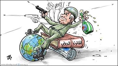 نتنياهو والعالم
