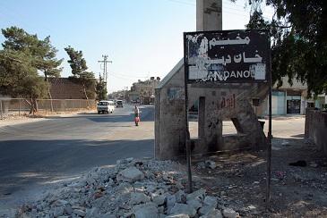 تعرض ثلاثة أشقاء من أبناء مخيم خان دنون لحادث دهس بدارجة نارية