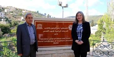 معايعة: ادراج مواقع فلسطينية على قائمة التراث العالمي يساهم في حمايتها من أطماع الاحتلال