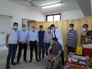 اللجنة الشعبيّة بمُخيّم خانيونس تعلن بدء المرحلة الثانية من التطعيم ضد