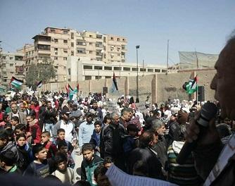 الفلسطينيون جنوب دمشق مغيّبون عن فعاليات ذكرى النكبة هذا العام