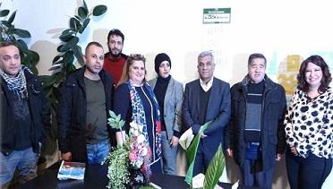مشاركة لأنصار «الديمقراطية» بحفل توقيع كتاب للكاتبة يسرى الأحمد