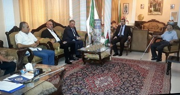 السفير دبور يثمن موقف الجزائر من القضية الفلسطينية