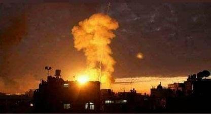 قصف إسرائيلي على قطاع غزة بذريعة إطلاق صاروخ نحو «إشكول»