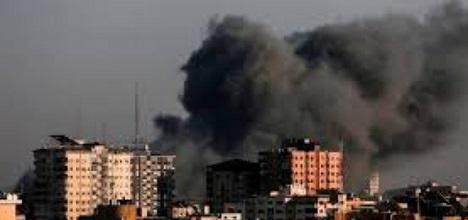 غزة: قرر بإزالة 4 عمارات سكنية بشارع الوحدة