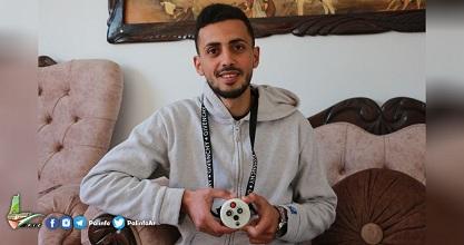 ميدالية كورونا الذكيّة .. إنجاز لمهندس فلسطيني في غزة