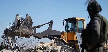 سلطات الاحتلال تخطر بهدم (4) منازل قيد الإنشاء غرب جنين