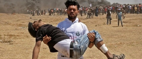 (305) شهداء و17335 جريح حصيلة اعتداءات قوات الاحتلال بحق مشاركي مسيرات كسر الحصار