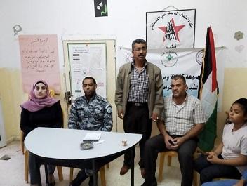 تحت رعاية مركز واصل لتنمية الشباب / فرع أريحا محاضرة حول دور الضابطة الجمركية ، بالتعاون مع اتحاد الشباب الديمقراطي الفلسطيني.