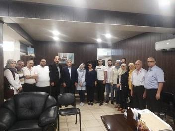 أشد يبحث أزمة تسجيل الطلاب الفلسطينيين بالمدارس الرسمية في الجنوب