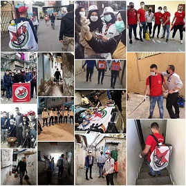 حملات دعم إغاثي وصحي لـ «الديمقراطية» وقطاعاتها في لبنان