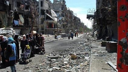 العودة القريبة لمخيم اليرموك آمال تتبدد
