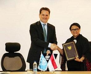 أندونيسيا تتبرع بمبلغ مليون دولار لصالح اللاجئين الفلسطينيين