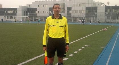 حَكَم دولي من أبناء مخيم جرمانا يشارك في بطولة كأس الاتحاد الآسيوي