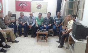 مجلس عزاء لشهداء مخيم النيرب في ركن الدين