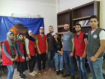 / أشد / يشارك الإتحاد العام لطلبة فلسطين في فعالية