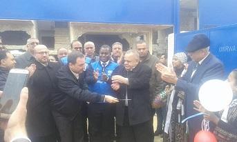 الأونروا تفتتح مدرستي طبريا والصفصاف في مخيم درعا