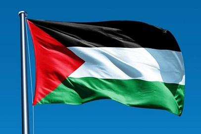 رفع العلم الفلسطيني فوق مقر بلدية باترسون بولاية نيو جيرسي الأميركية