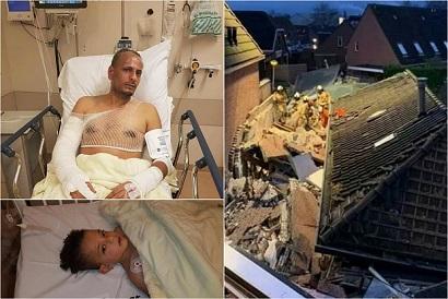 إصابة أحد أبناء مخيم النيرب ونجله في انفجار مطعم بهولندا