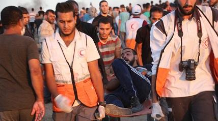 العودة يقدم شهادات حول الانتهاكات الإسرائيلية ضد مسيرات العودة