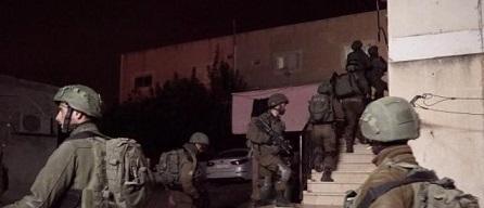 جيش الاحتلال يعتقل (6) مواطنين بأنحاء متفرقة من الضفة الغربية