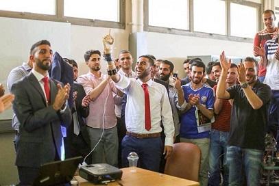 إبتكارٌ فلسطيني يفوز بالذهبية الوحيدة في معرضٍ تكنولوجي عالمي في الصين
