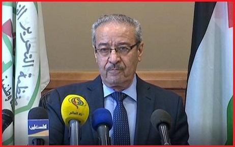 تيسير خالد : الإدارة الأميركية شريك لدولة الاحتلال في العدوان على الشعب الفلسطيني