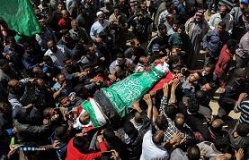 187 شهيدًا منذ إعلان ترمب منهم 120 في مسيرات العودة بغزة